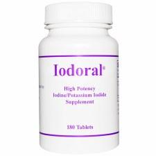 Optimox Iodoral, 180 tablets