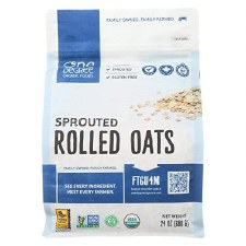 One Degree Sprouted Rolled Oats, 24 oz.