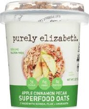 Purely Elizabeth Apple Cinnamon Oats, 2 oz.