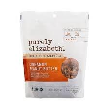 Purely Elizabeth Peanut Butter Cinnamon Granola, 8 oz.