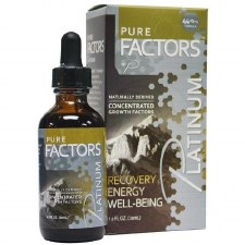 Pure Factors Platinum 19.25 mg Velvet Antler with 25 mg Tribulus 3, 1 oz.