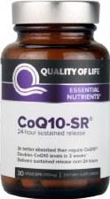 Quality of Life CoQ10-SR, 30 vegicaps