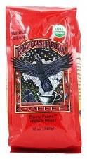 Raven's Brew Coffee Ebony French Roast Coffee, 12 oz.