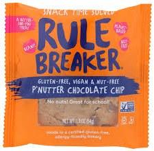 Rule Breaker P'nutter Chocolate Chip Blondies, 1.9 oz.