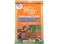 The Real Co Raw Coconut Sugar, 16 oz.