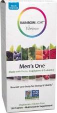 Rainbow Light Men's One Multy Vitamin, 120 tablets