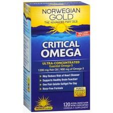 Renew Life Norwegian Gold Critical Omega, 120 soft gels