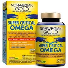 Renew Life Norwegian Gold Super Critical Omega, 30 soft gels