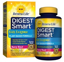 Renew Life Kids Enzyme Berry Blast, 60 tablets