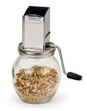 Endurance Vintage Stainless Steel Nut Grinder, 1 1/4 cup