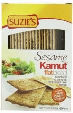 Suzie's Sesame Kamut Flat Bread, 4.5 oz.