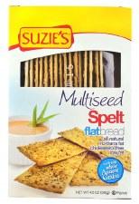 Suzie's Multiseed Spelt Flat Bread, 4.5 oz.