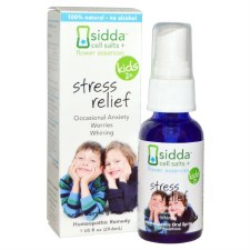 Siddha Flower Essences Kids 2+ Stress Relief Homeopathic Remedy, 1 oz.