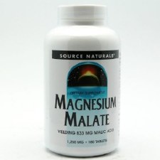 Source Naturals Magnesium Malate 1250mg, 180 tablets