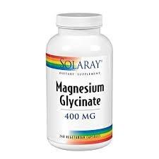 Solaray Magnesium Glycinate 400 mg, 240 count