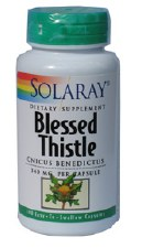 Solaray Blessed Thistle 340mg 100 capsules