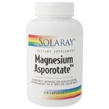 Solaray Magnesium Asporotate 120 capsules