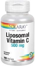 Solaray Liposomal Vitamin C 400mg, 100 vegetarian capsules