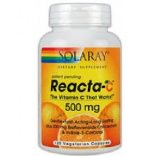 Solaray Reacta-C with Bioflavinois, 120 vegetarian capsules