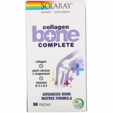 Solaray Collagen Bone Complete, 90 vegetartian capsules