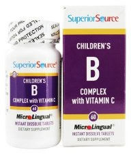 Superior Source Children's B Complex with Vitamin C, 60 tablets