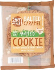 Sweet Street Manifesto Salted Caramel Cookie, 2.8 oz.