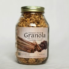 Small World Foods Cinnamon Raisin Granola, 13 oz.