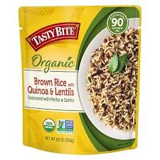 Tasty Bite Brown Rice with Quinoa & Lentils, 8.8 oz.