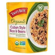 Tasty Bite Cuban Style Rice & Beans, 8.8 oz.
