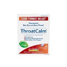 Boiron ThroatCalm, 60 tablets