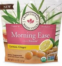 Traditional Medicinals Lemon Ginger Morning Ease, 4.13 oz.
