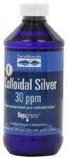 Trace Minerals Research Colloidal Silver, 8 oz.