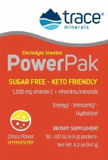 Trace MInerals Research Citrus Electrolyte Power Pack, 30 packets