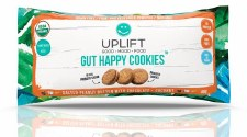 Uplift Salted Peanut Butter with Chocolate + Coconut Gut Happy Cookies, 1.41.oz.