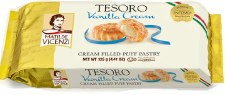 Matilde Vicenzi Tesoro Vanilla Creme Filled Puff Pastry, 4.41 oz.