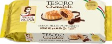 Matilde Vicenzi Tesoro Chocolate Creme Filled Puff Pastry, 4.41 oz.