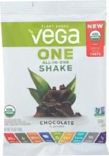 Vega One All-in One Organic Shake Chocolate, 1.5 oz.