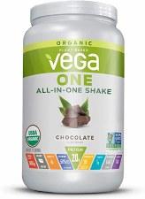 Vega One All-in One Organic Shake Chocolate, 25 oz.