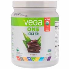 Vega One All-in One Organic Shake Mocha, 12.7 oz.