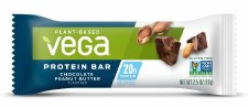 Vega Chocolate Peanut-Butter Plant Based Protein Bar, 2.5 oz.