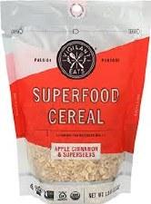 Vigilant Eats Apple Cinnamon Superseeds Cereal, 11 oz.