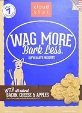 Cloud Star Wag More Bark Less Oven Baked Biscuits with Bacon, Cheese & Apple, 16 oz.