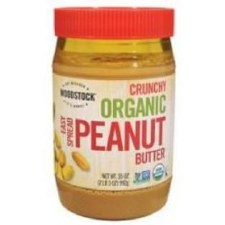 Woodstock Farms Organic Crunchy Peanut Butter, 35 oz.