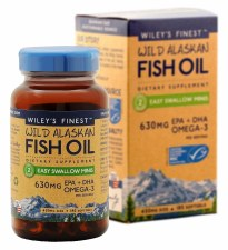 Wiley's Finest Easy Swallow Minis, 180 soft gels