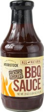 Woodstock Farms Organic Hickory BBQ Sauce, 18 oz.