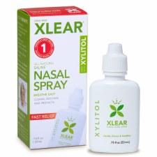 Xlear Saline Nasal Spray with Xylitol, .75 oz.