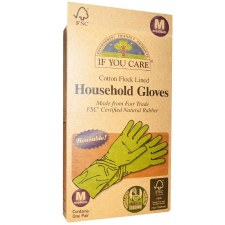If You Care Household Gloves, 1 pair medium