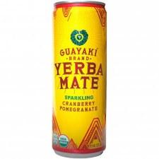 Guayaki Sparkling Cranberries Yerba Mate, 12 oz.