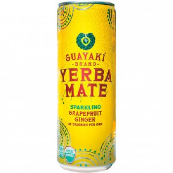 Guayaki Sparkling Grapefruit Yerba Mate, 12 oz.