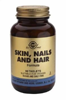 Solgar Skin Nails and Hair Formula Ta 60